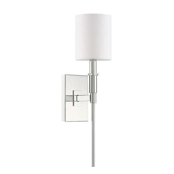 Mariana Home - Clement 1 Light Wall Sconce - Polished Nickel