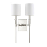 Mariana Home - Clement 2 Light Wall Sconce - Polished Nickel