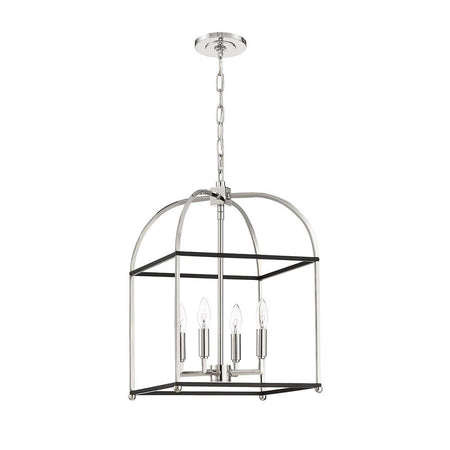 Art Deco Chandelier - Small - Bronze