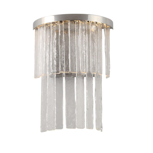 Mariana Home - Amelia LED Wall Sconce - Polished Nickel Finish