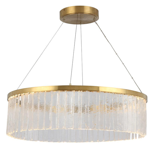 Mariana Home - Amelia LED Chandelier - Antique Brass Finish