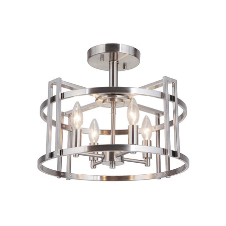Graham 4 Light Pendant - Chrome