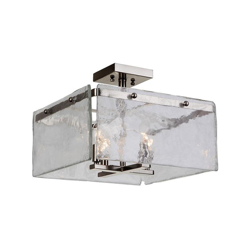 Highshore 4 Light Semi Flush Mount - Chrome Finish