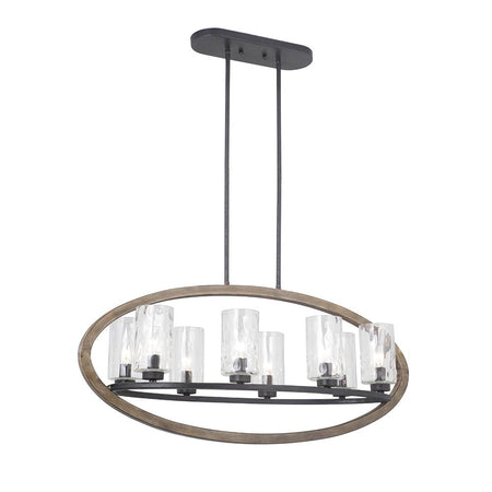 Isobel LED Pendant Chandelier - Polished Nickel