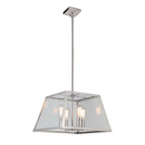 Branson 4 Light Pendant - Satin Nickel Finish - Mariana Home