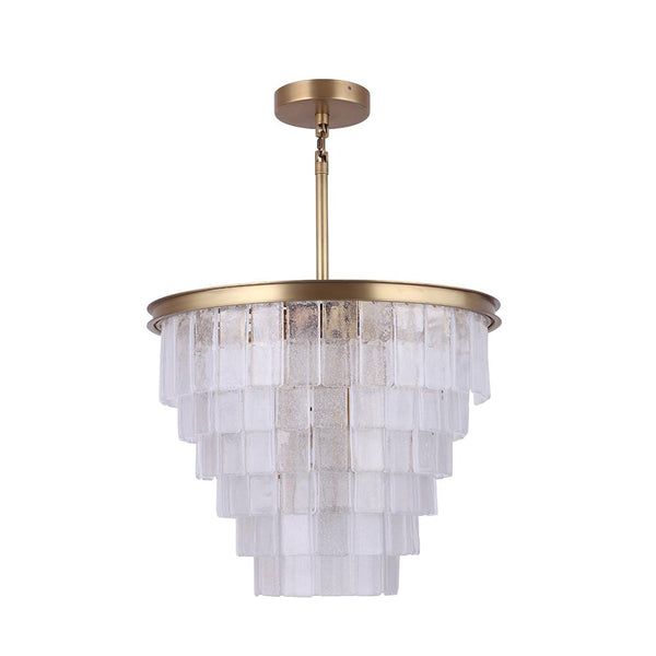 Mariana Home - Macy 13LT Chandelier - Aged Brass