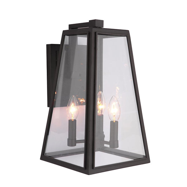Mariana Home - Lorrimore 3 Light Outdoor Wall Lamp - Bronze Finish