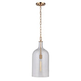Mariana Home - London 1 Light Pendant - Brass Finish