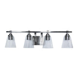 Mariana Home - Brixton 4 Light Bath Vanity - Brushed Nickel Finish