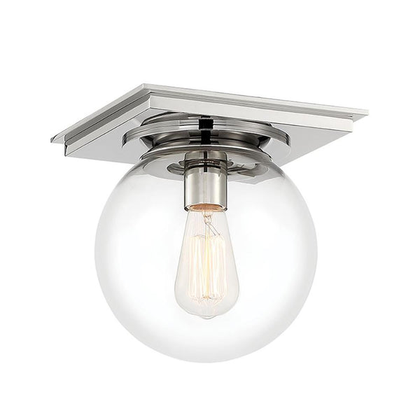 Mariana Home - Bubble 1LT Flush Mount - Polished Nickel