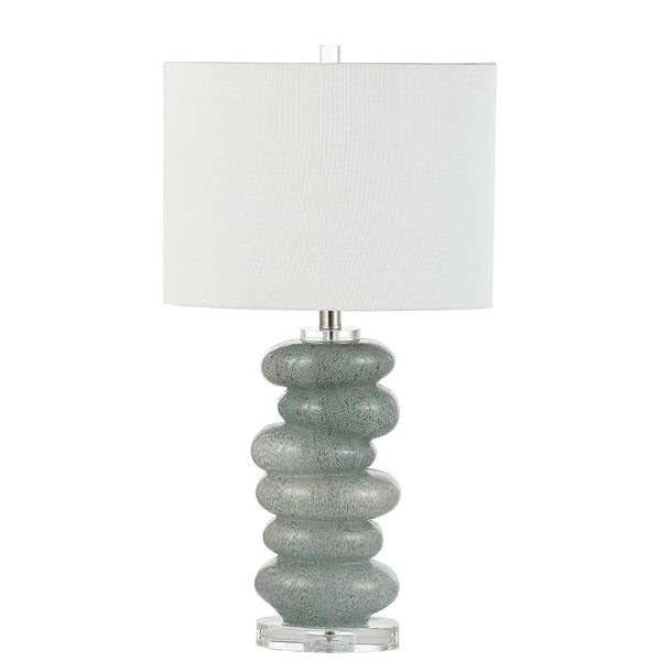 Mariana Home - Elantra Table Lamp - Satin Nickel Finish