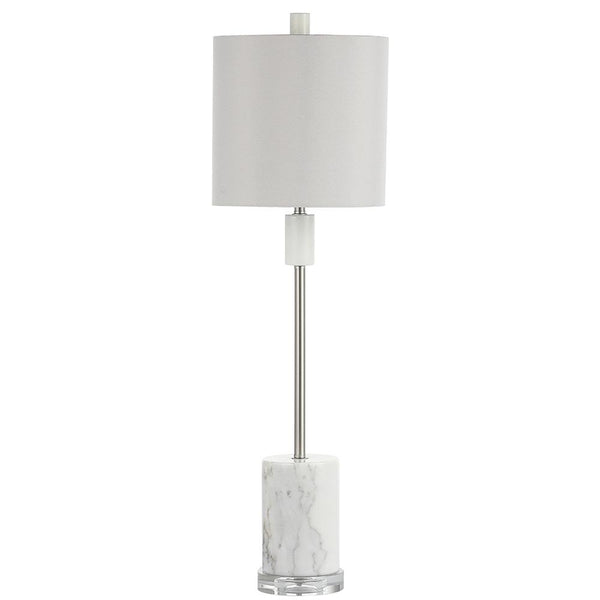 Mariana Home - Dana Table Lamp - Satin Nickel Finish
