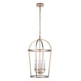 Mariana Home - Veronica 4 Lt Foyer Pendant - Gold