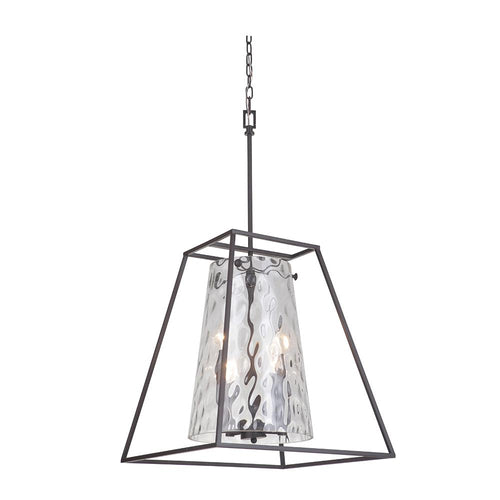Mariana Home - Boundary 4 Light Pendant Chandelier - Bronze Finish