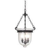 Mariana Home - Cloche 3 Light Lantern - Bronze Finish