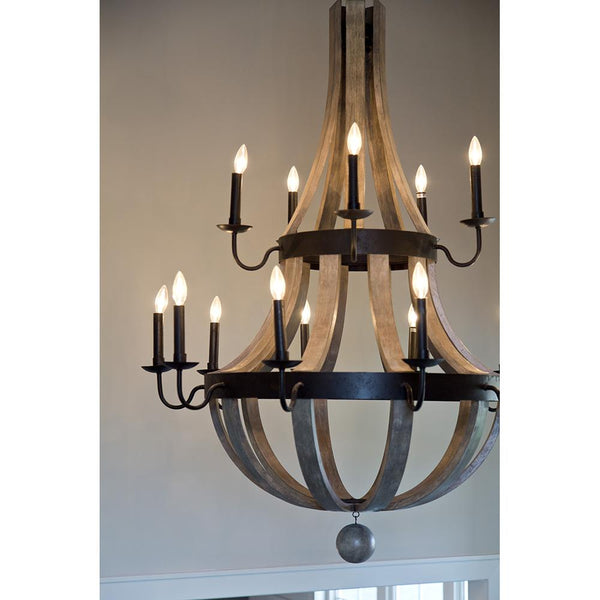 Lancelot 15 Light Chandelier