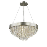 Mariana Home - Nova 12 Light Pendant - Silver Finish - Crystal Accents - 101214