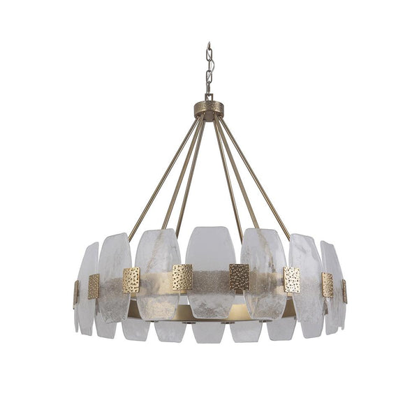 Mariana Home - Regina Nine Light Chandelier - Champagne Finish - 109925
