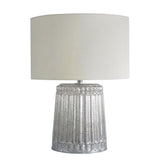 Mariana Home - Column Mercury Glass Table Lamp - Silver - 125003