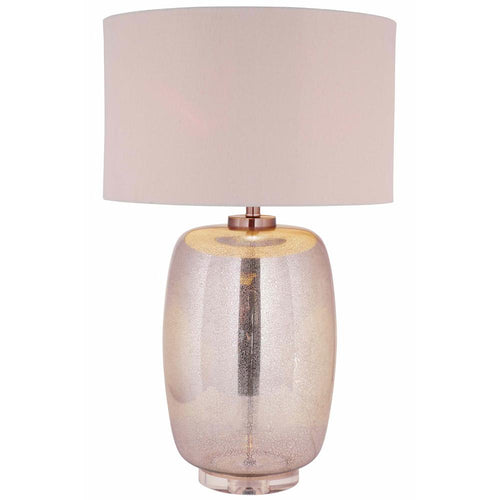Mariana Home   The Grande Mercury Glass Table Lamp   125010