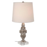 Mariana Home - The Juxatapose One Light Table Lamp - Distressed Wood Finish - 125025