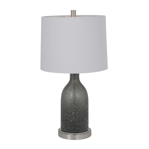 Mariana Home - Ogden One Light Table Lamp - Grey Art Glass - 125026