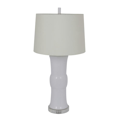 Mariana Home - Miranda One Light Table Lamp - White Ceramic - 125032