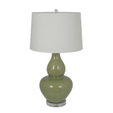 Mariana Home - Lilly One Light Table Lamp - Green Ceramic - 125033
