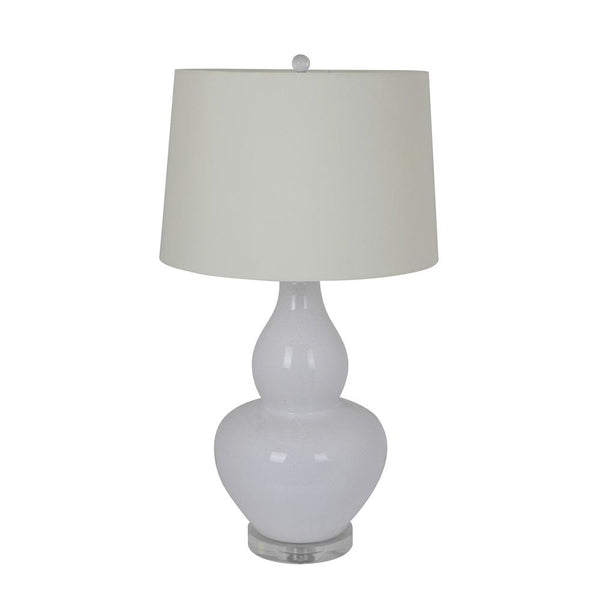 Mariana Home - Lilly One Light Table Lamp - White Ceramic - 125034