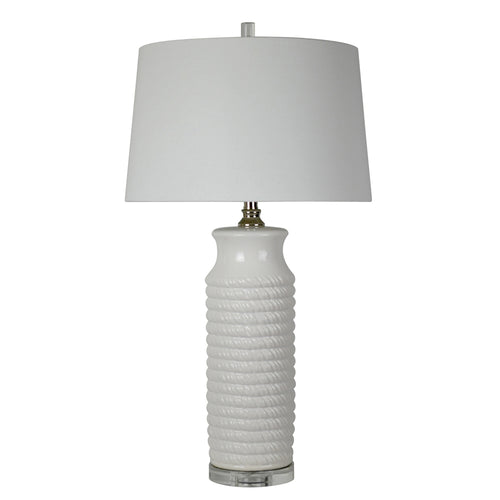 Camden Table Lamp - White
