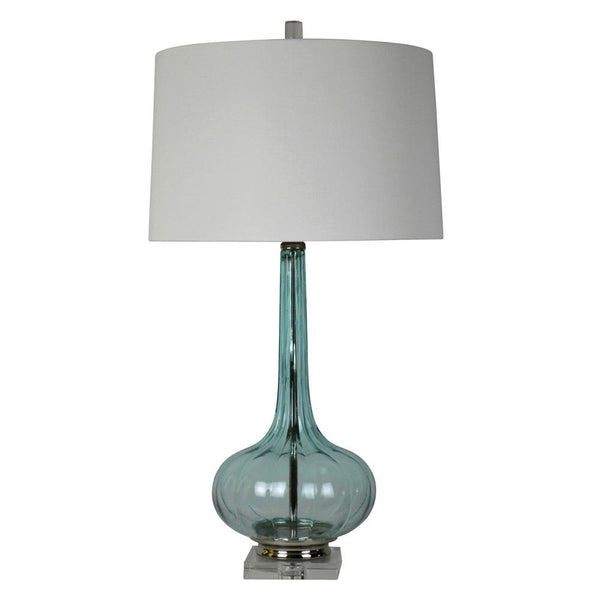 Mariana Home - Felicity One Light Table Lamp - Blue Art Glass -130043