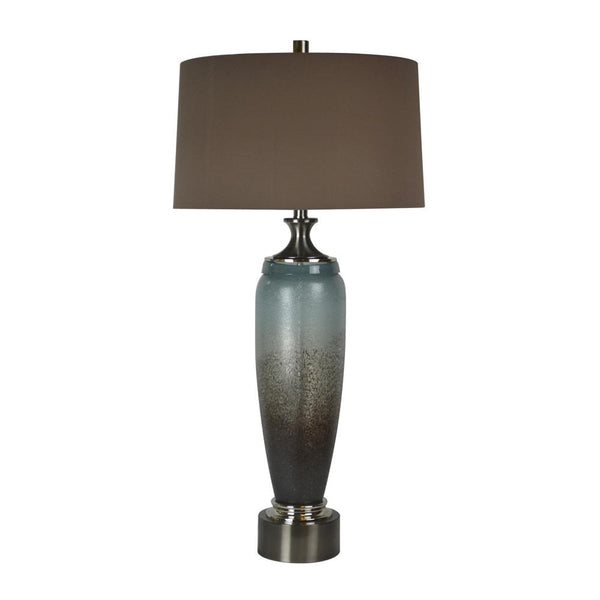 Mariana Home - Delaney One Light Table Lamp - Blue and Brown Art Glass - 130044