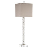 Mariana Home - Bryce Table Lamp - Crystal and Silver Leaf Finish - 130045