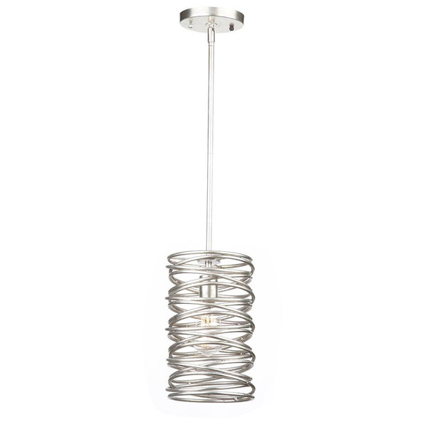 Mariana Home - Rory Pendant - Silver Leaf Finish - 130053