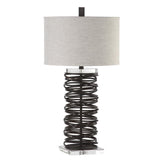 Mariana Home - Spiral Table Lamp - Bronze Finish - 130056