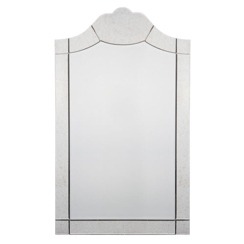 Mariana Home - Harlow Rectangle Wall Mirror- Antique Mirror Frame - 152008