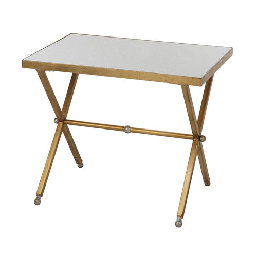 Modern Accent Tables. Mariana Home Blair Marble Top Accent Table Gold Leaf  Finish Silver Accents