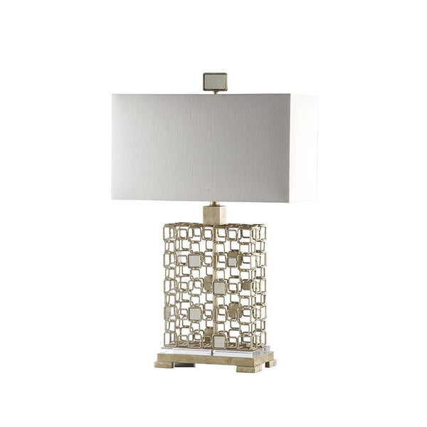 Mariana Home - Sardinia Table Lamp - Silver Leaf and Antique Mirror Finish - 152039