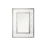 Mariana Home - Framed Rectangle Celeste Wall Mirror - Silver Leaf Finish - 152050