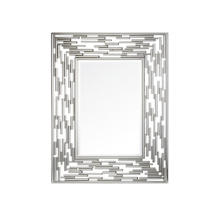 Lamar Wall Mirror - Silver Leaf