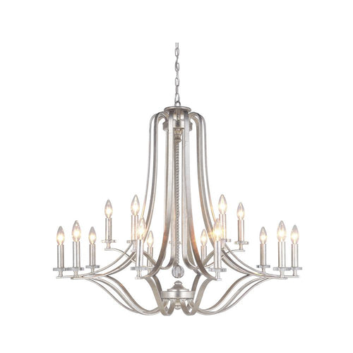 Mariana Home - Crystal Bauble 15 Light Chandelier - Champagne Finish with Crystal Accent - 201514