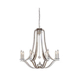 Mariana Home - Crystal Bauble Chandelier - Antique Silver Finish - 208814