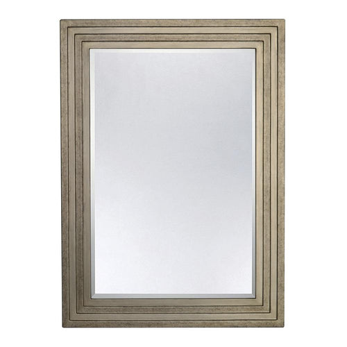 Mariana Home - Atremes Large Framed Rectangle Wall Mirror - Soft Gold Finish - 210145