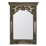 Mariana Home - Lavinnia Rectangle Framed Wall Mirror - Antique Gold Finish - 210150