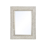 Mariana Home - Framed Rectangle Duluth Wall Mirror - Silver Leaf, Champagne Finish - 210151