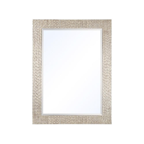 Mariana Home - Framed Rectangle Lamar Wall Mirror - Silver Leaf Finish - 210157