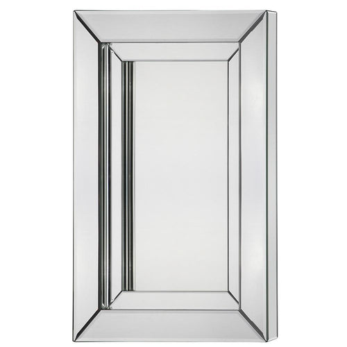 Mariana Home - Framed Rectangle Marissa Wall Mirror - Beveled, Layered Mirror - 210159