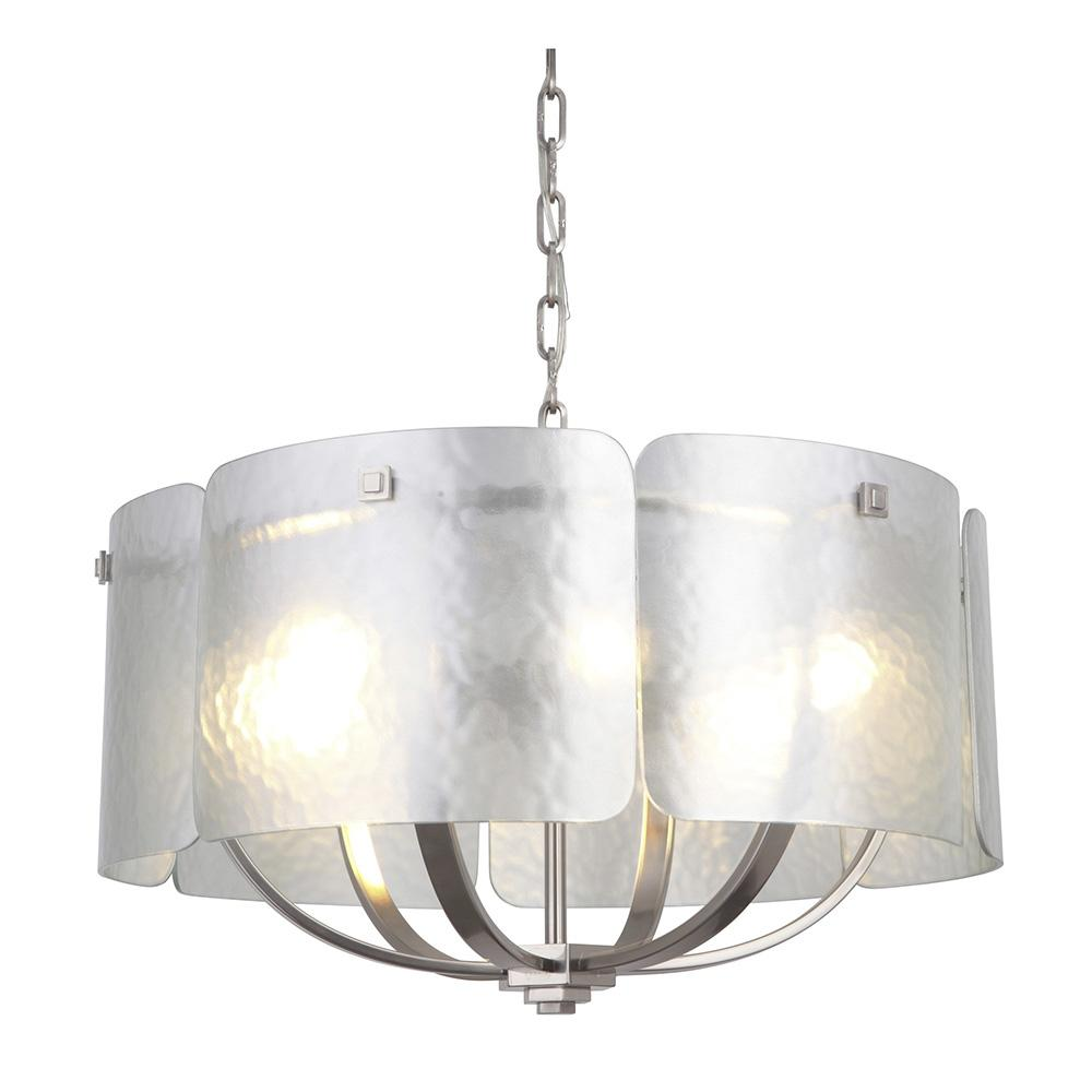 and garden chandelier product ceiling crystal flush w shipping pendant light silver free overstock today mount home