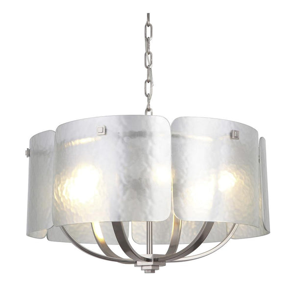 Mariana Home - Celie Six Light Pendant Chandelier - Silver Finish - 210645