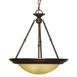 Mariana Home - Loft Three Light Pendant - Oil Rubbed Bronze Finish - 221990